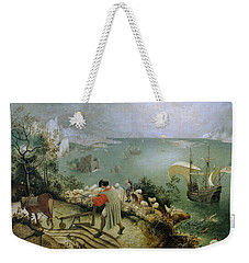 Landscape With The Fall Of Icarus Weekender Tote Bag