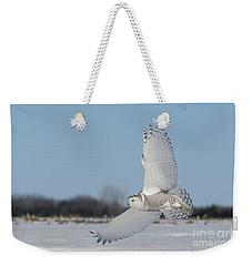 L'ange Qui Chasse Weekender Tote Bag