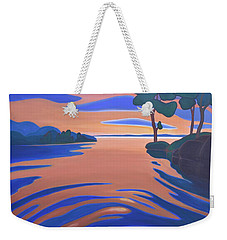 Languid Evening Weekender Tote Bag