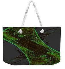 Weekender Tote Bag featuring the digital art Lanjayling by Andrew Kotlinski