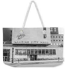 Lansing Michigan City Hall  Weekender Tote Bag
