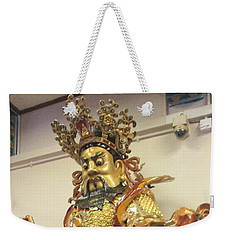Weekender Tote Bag featuring the photograph Lantau Island 42 by Randall Weidner
