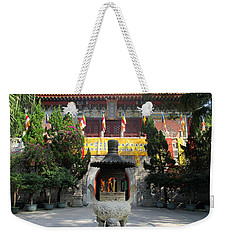 Weekender Tote Bag featuring the photograph Lantau Island 45 by Randall Weidner