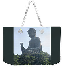 Weekender Tote Bag featuring the photograph Lantau Island 50 by Randall Weidner