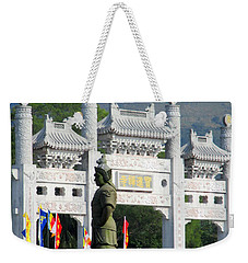 Weekender Tote Bag featuring the photograph Lantau Island 51 by Randall Weidner