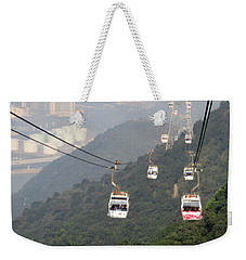 Weekender Tote Bag featuring the photograph Lantau Island 53 by Randall Weidner