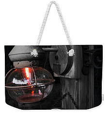 Weekender Tote Bag featuring the photograph Lantern by Brian Jones