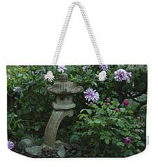 Lantern With Dahlia Weekender Tote Bag
