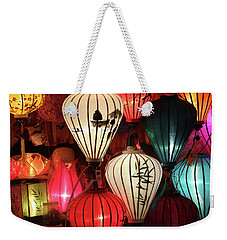 Lanterns Colors Hoi An Weekender Tote Bag
