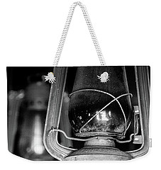 Weekender Tote Bag featuring the photograph Lanterns by Jay Stockhaus