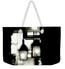 Weekender Tote Bag featuring the photograph Lanterns Lit by KG Thienemann