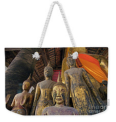 Weekender Tote Bag featuring the photograph Laos_d186 by Craig Lovell