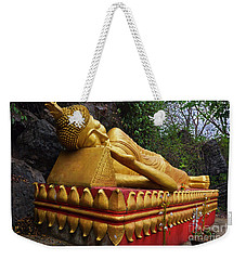 Weekender Tote Bag featuring the photograph Laos_d602 by Craig Lovell