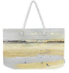 Lapwings By The Sea Weekender Tote Bag