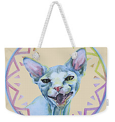 Lara Cat Weekender Tote Bag