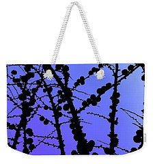 Larch Cones Against The Sky Weekender Tote Bag