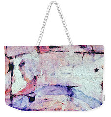 Weekender Tote Bag featuring the painting Laredo by Dominic Piperata