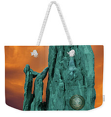 Lares Compitales - Guardian Spirits Of The Crossroads Weekender Tote Bag