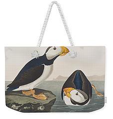 Large Billed Puffin Weekender Tote Bag by John James Audubon