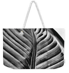 Large Leaf Weekender Tote Bag