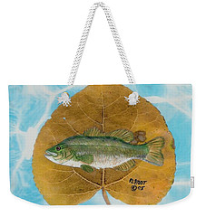 Large Mouth Bass #2 Weekender Tote Bag by Ralph Root