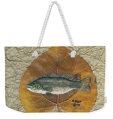Large Mouth Bass #3 Weekender Tote Bag by Ralph Root