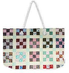 Large Quilt Weekender Tote Bag