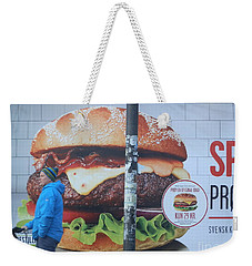 Larger Than Life Weekender Tote Bag by Margaret Brooks