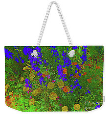 Larkspur And Primrose Garden 12018-3 Weekender Tote Bag