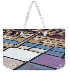 Weekender Tote Bag featuring the photograph Las Salinas by Delphimages Photo Creations