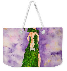 Las Vegas Show Girl Weekender Tote Bag by Vicki  Housel