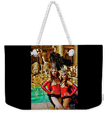 Las Vegas Showgirls Weekender Tote Bag