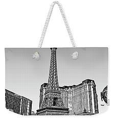 Las Vegas Skyline Weekender Tote Bag by Walt Foegelle