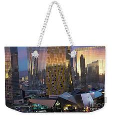 Las Vegas Sunrise Reflection Weekender Tote Bag