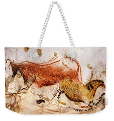Lascaux Cow And Horse Weekender Tote Bag