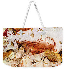 Lascaux Cow And Horses Weekender Tote Bag