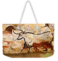 Lascaux Hall Of The Bulls - Aurochs Weekender Tote Bag