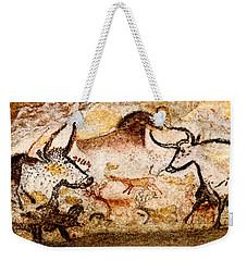 Lascaux Hall Of The Bulls - Deer And Aurochs Weekender Tote Bag