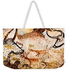 Lascaux Hall Of The Bulls - Deer Between Aurochs Weekender Tote Bag