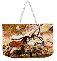 Lascaux Hall Of The Bulls - Horses And Aurochs Weekender Tote Bag