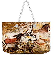 Lascaux Hall Of The Bulls Weekender Tote Bag