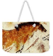 Lascaux Prehistoric Horse Detail Weekender Tote Bag