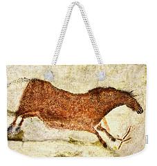 Lascaux Red Horse Weekender Tote Bag