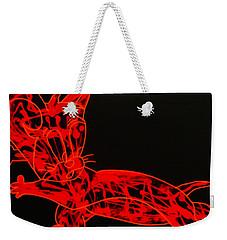 Laser Weekender Tote Bag