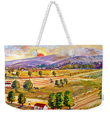 Lasithi Valley In Greece Weekender Tote Bag
