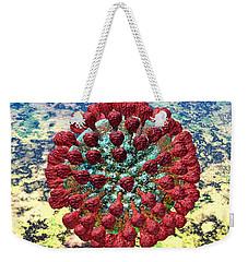 Lassa Virus Weekender Tote Bag by Russell Kightley