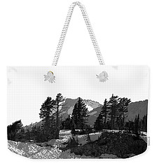 Weekender Tote Bag featuring the photograph Lassen National Park by Lori Seaman