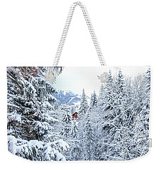 Weekender Tote Bag featuring the photograph Last Cabin Standing- by JD Mims