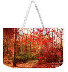 Last Color Of Fall Weekender Tote Bag