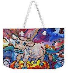 Last Cow Standing Weekender Tote Bag